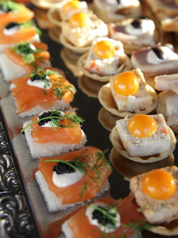 Canap s merlin party eventservice partyservice aus for Canape catering services